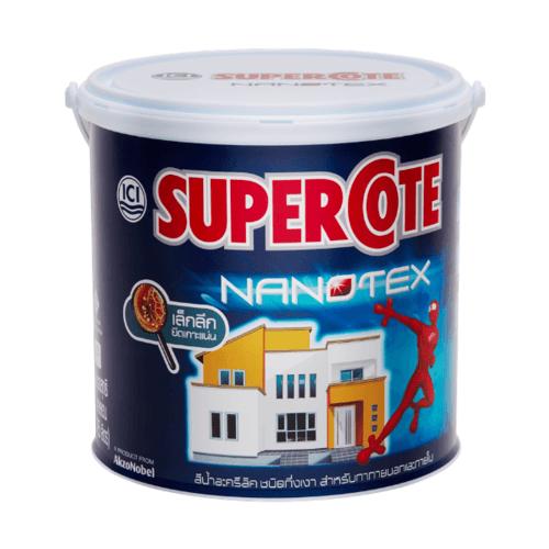 Dulux สีภายนอกS/C Nanotex 034 กล. Supercote Nanotex