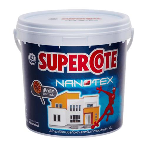 Dulux ซูเปอร์โคทนาโนเท็กซ์ เบส A 3L Supercote NANOTEX