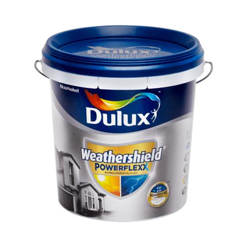 Dulux เวเธอร์ชีลด์พาวเวอร์เฟล็กซ์เนียน เบสA 9L Weathershield Powerflexx