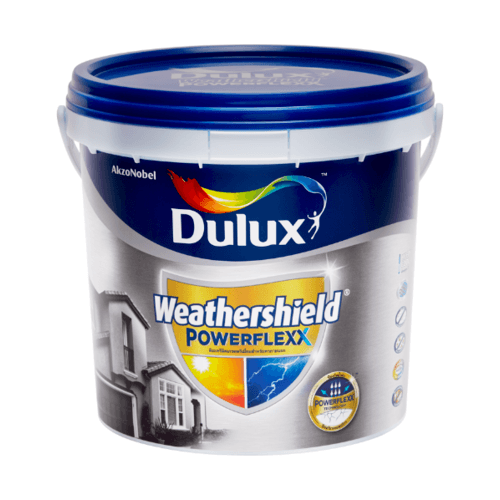 Dulux เวเธอร์ชีลด์พาวเวอร์เฟล็กซ์เนียน เบสA 3L Weathershield Powerflexx