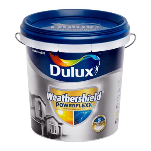 Dulux เวเธอร์ชีลด์พาวเวอร์เฟล็กซ์เนียน เบสB 9L Weathershield Powerflexx