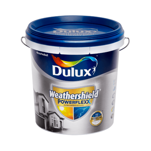 Dulux เวเธอร์ชีลด์พาวเวอร์เฟล็กกึ่งเงา เบสC 9L Weathershield Powerflexx