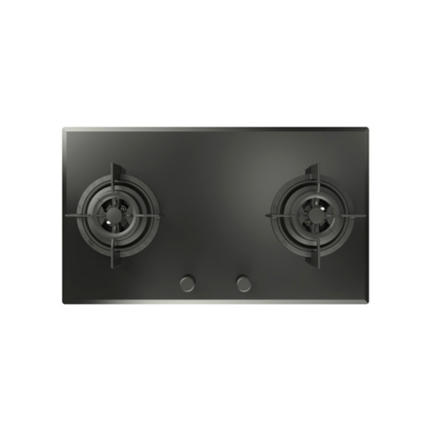 TEKA เตาแก๊สแบบฝังหน้ากระจก 2 หัวเตา  GK LUK 73.1 2G AI AL สีดำ