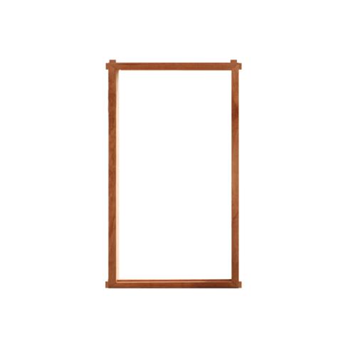 MAZTERDOOR วงกบบานหน้าต่างไม้เนื้อแข็ง  ขนาด 45x90 cm