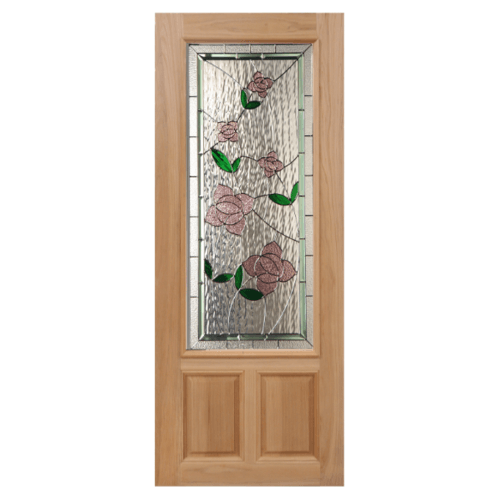 Masterdoors ประตูนาตาเซีย   (80x200) Lotus-09