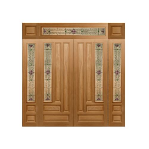 MAZTERDOOR ประตูไม้นาตาเซีย 40x265 cm. Jasmine-04(Upper side)