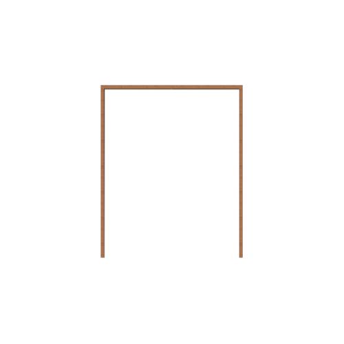 MAZTERDOOR วงกบบานหน้าต่างไม้สยาแดง  ขนาด 40x150 cm