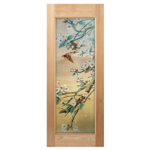 MAZTERDOOR ประตูไม้จาปาการ์  (80x200) Master-015