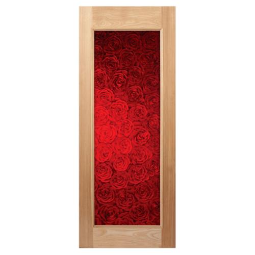 MAZTERDOOR ประตูไม้จาปาร์การ์ 80x200  Master-001