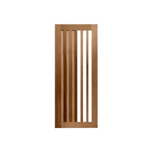 MAZTERDOOR ประตูกระจกไม้สยาแดง ขนาด 100x240 cm.  MD60-09