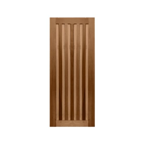 MAZTERDOOR  ประตูไม้เนื้อแข็ง บานทึบ ขนาด 105x200ซม.  MD60-09-1