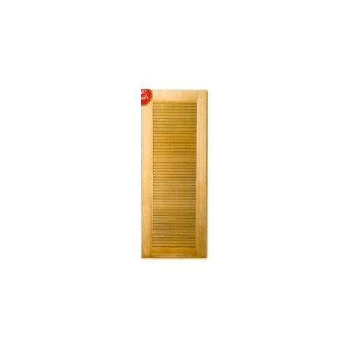 MAZTERDOOR  ประตูไม้สยาแดง เกล็ดเต็มบาน ขนาด70x200ซม.  M938
