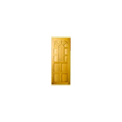 MAZTERDOOR ประตูไม้สยาแดง บานทึบลูกฟักแกะลาย  ขนาด 80x200ซม. G912