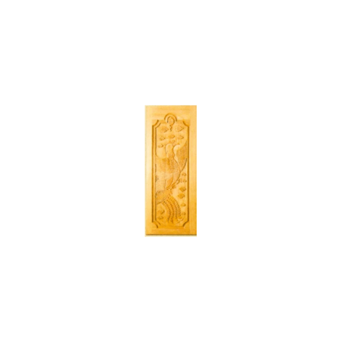 MAZTERDOOR  ประตูไม้สยาแดงแกะลายมังกร 2ฝั่ง  ขนาด 80x200ซม. G957
