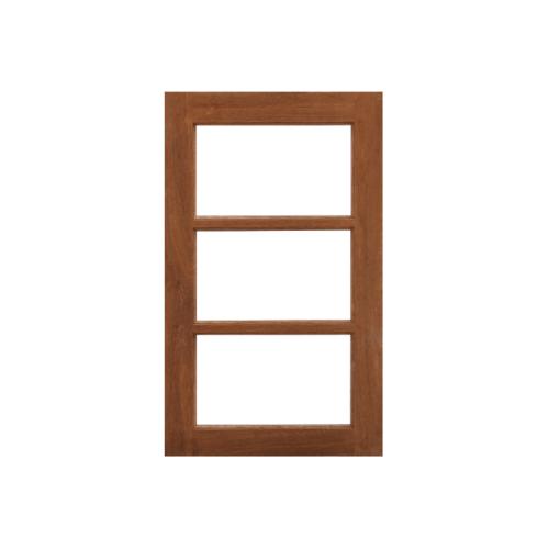 MAZTERDOOR  หน้าต่างไม้สยาแดง(บันไดลิงโปล่ง) ขนาด 60x100ซม. WD-05
