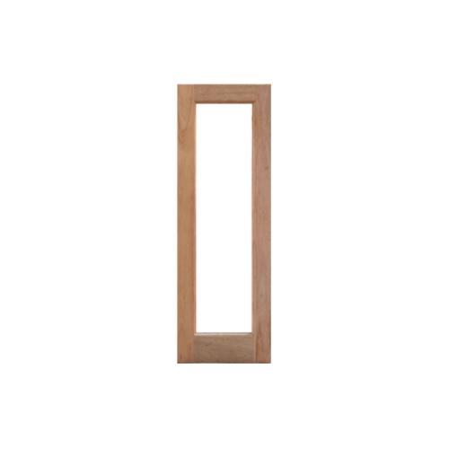 MAZTERDOOR  บานหน้าต่างไม้สยาแดงช่องกระจกเต็มบาน(โปร่ง)ขนาด 40x150ซม.  DF-01