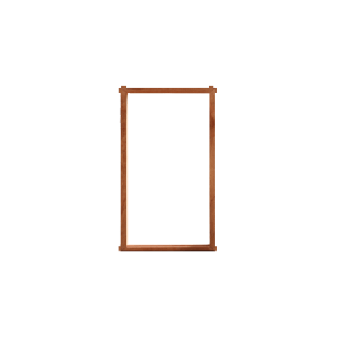 MAZTERDOOR  วงกบหน้าต่างไม้เนื้อแข็ง  ขนาด 55x155ซม.