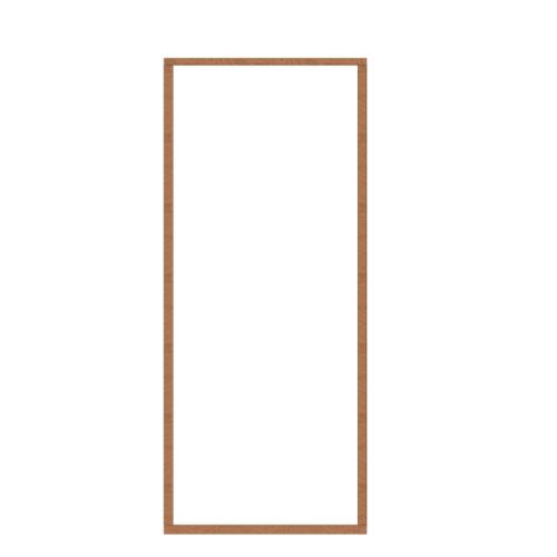 MAZTERDOOR วงกบประตูไม้เนื้อแข็ง ขนาด90X250cm.