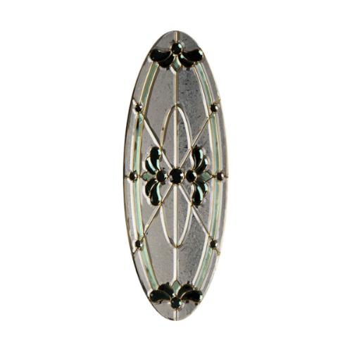MAZTERDOOR กระจก ขนาด (39x96.5 cm.) Orchid-08