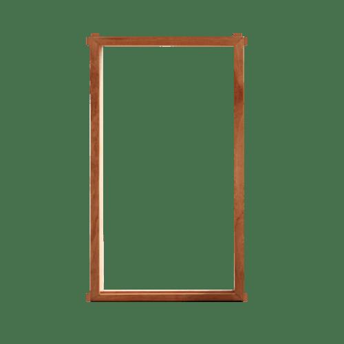 MAZTERDOOR วงกบหน้าต่างไม้จริง ขนาด 40x150 ซม. ไม้ธรรมชาติ