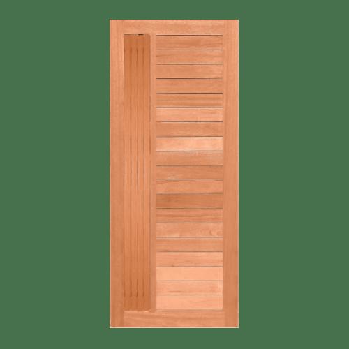 MAZTERDOOR ประตูไม้เนื้อแข็งบานทึบ 80x200ซม.