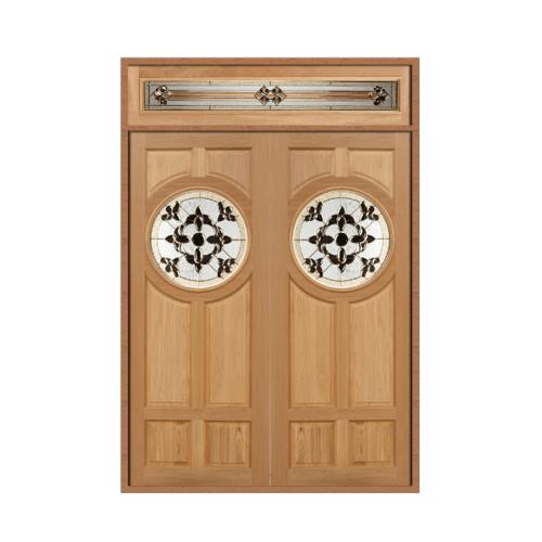 Masterdoors ประตูไม้สนนาตาเซีย  80x200 DAISY-01