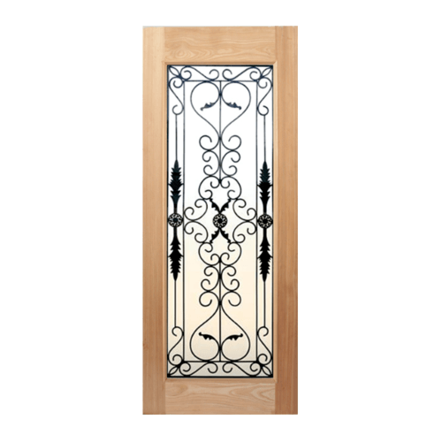 Masterdoors ประตูไม้สนนาตาเซีย  80x200(ทำสี)  STMD-001