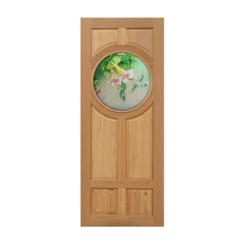 MAZTERDOOR ประตูไม้สยาแดง ขนาด 80x200 cm.  Master-C03
