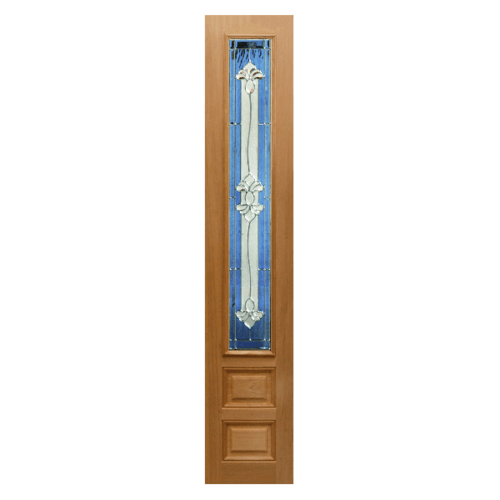 MAZTERDOOR ประตูกระจกนาตาเซีย ขนาด 40x150 cm.  Jasmine-09