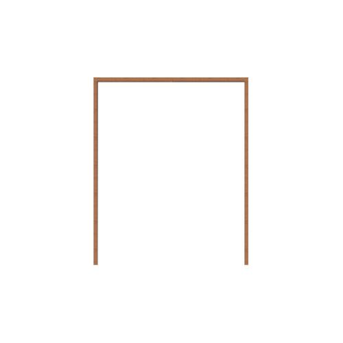 Masterdoors วงกบประตูไม้  ขนาด120x210cm.  SET1