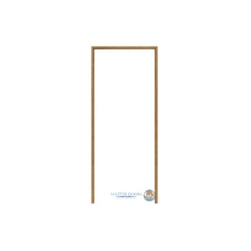 MAZTERDOOR วงกบประตูไม้เนื้อแข็ง  ขนาด  60X242 cm. SET1