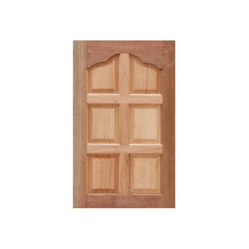 Masterdoors หน้าต่างบานทึบไม้สยาแดง ลายปีกนก ขนาด 60x110cm. WD-06