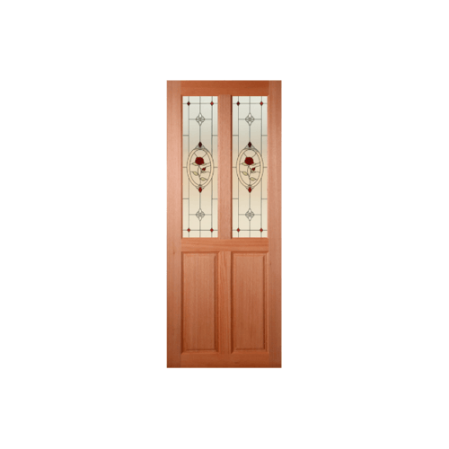 Masterdoors ประตูไม้สยาแดง ขนาด 80x180 cm. SS-02/3