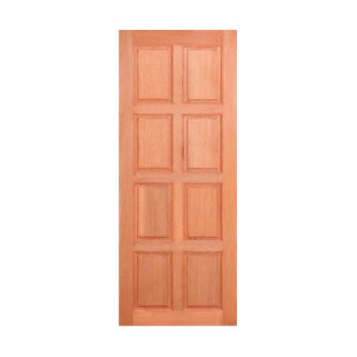 Masterdoors ประตูไม้สยาแดง บานทึบ 8 ฟัก  ขนาด 100x200cm.