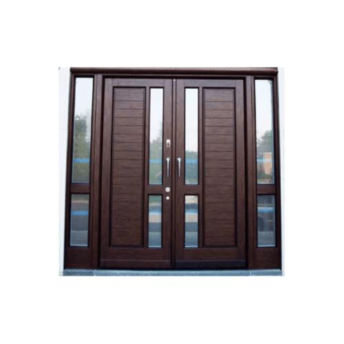 MAZTERDOOR ประตูกระจกไม้สยาแดง ขนาด 200x200cm.(ทำสีตามแบบ)  MD59-07