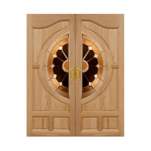 MAZTERDOOR ประตูไม้สยาแดง  ขนาด 90x200 cm. VANDA-04