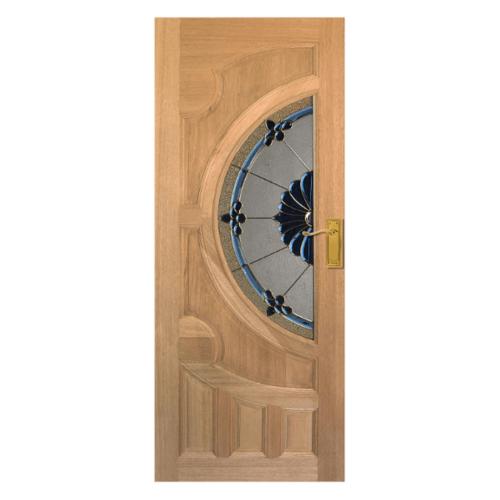 MAZTERDOOR ประตูกระจกสยาแดง  ขนาด 100x200 VANDA-06