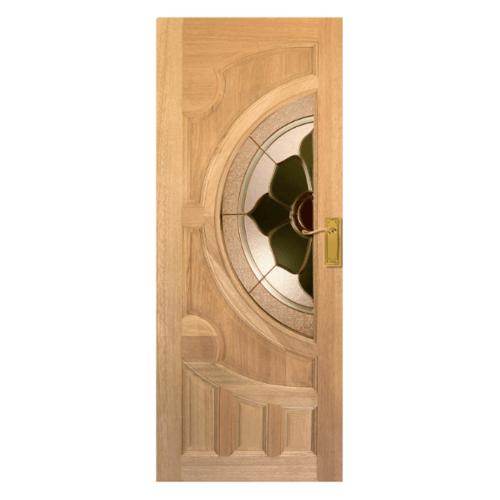 MAZTERDOOR ประตูกระจกไม้สยา  ขนาด 90X200 cm. VANDA-07
