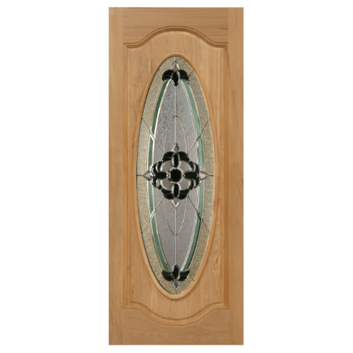 MAZTERDOOR ประตูกระจกนาตาเซีย  ขนาด 100x200 cm. ORCHID-06