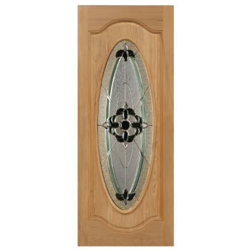 MAZTERDOOR ประตูกระจกไม้จาปาร์การ์ ขนาด 90x200 cm. Orchid-06