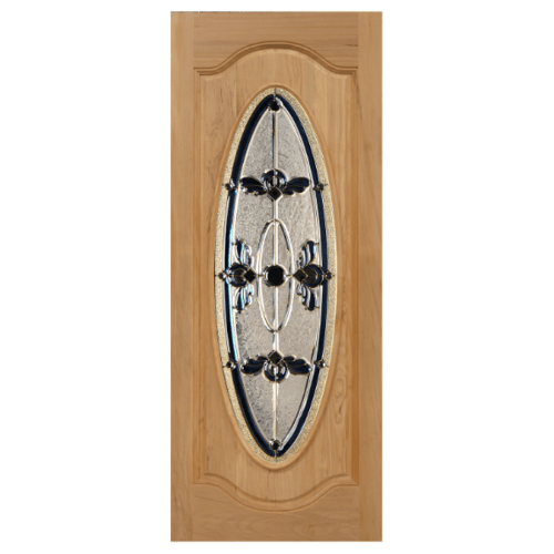 MAZTERDOOR ประตูไม้จาปาร์การ์   ขนาด 90x200 cm. ORCHID-07