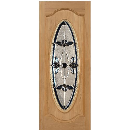 MAZTERDOOR ประตูกระจกจาปาร์การ์  ขนาด 100x200 cm.  ORCHID-07