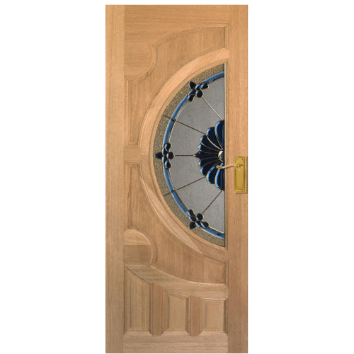 MAZTERDOOR ประตูกระจกจาปาร์การ์  ขนาด 100x200  cm.  JASMINE-06A