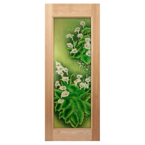 MAZTERDOOR ประตูกระจกนาตาเซีย    ขนาด  100x200  cm. MASTER-003