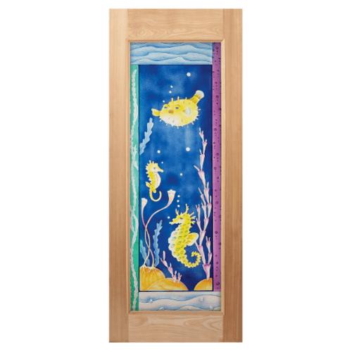 MAZTERDOOR ประตูไม้นาตาเซีย  ขนาด 100x200 cm.  MASTER-010