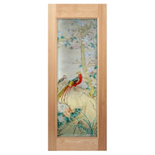 MAZTERDOOR ประตูไม้สยาแดง  ขนาด 90x200 cm. Master-019