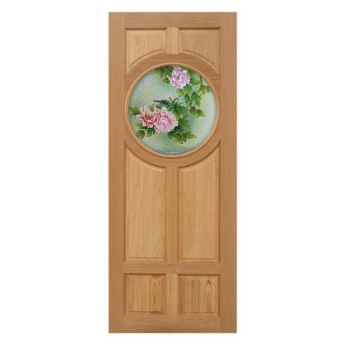MAZTERDOOR ประตูไม้นาตาเซีย  ขนาด 100x200  cm. MASTER-C02