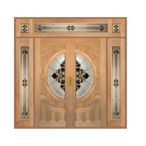 MAZTERDOOR SET 4 ประตูสยาแดง 240x265cm.   VANDA05