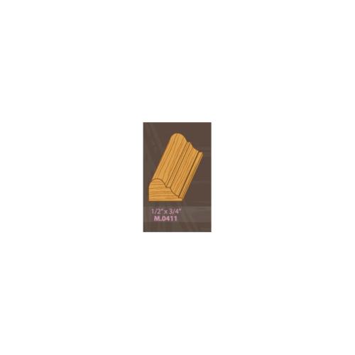 MAZTERDOOR ไม้เปอร์เซีย M.0411(007)ขนาด 1/2x3/4x2.0 M.0411