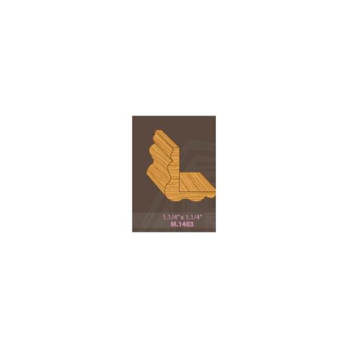 MAZTERDOOR ไม้เปอร์เซียM.1403  ครอบมุม ขนาด 1.1/4x1.1/4x300 cm ไม้เปอร์เซียM.1403  ครอบมุม ขนาด 1.1/4x1.1/4x300 cm